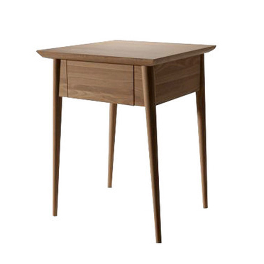 Danish Designed Recycled Teak Timber Bedside Table with Drawer ...