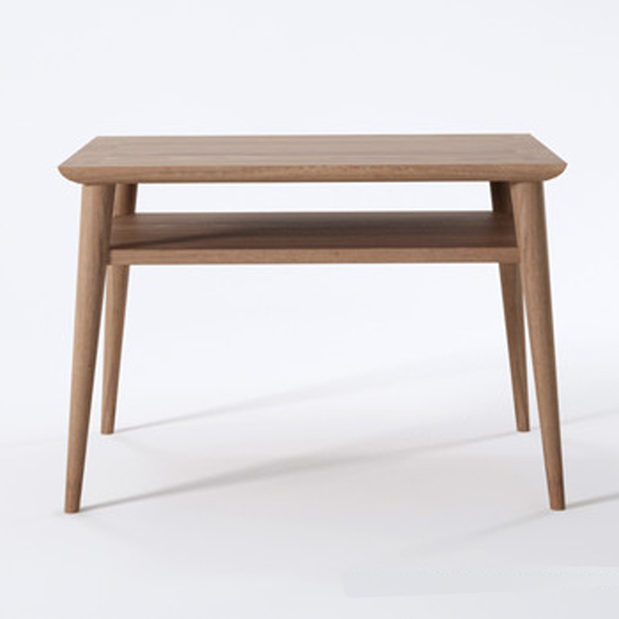 Danish designed recycled teak timber bedside table the natural room - Bedside table ...