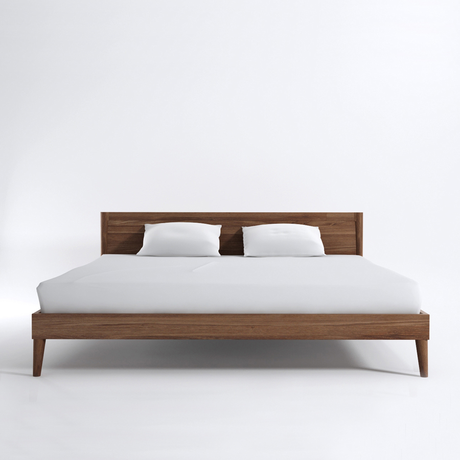 King Size Solid Timber Bed The Natural Room