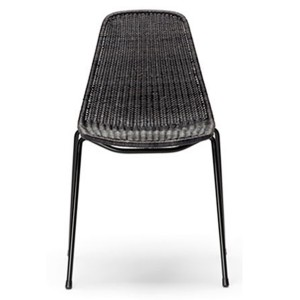 Backet Chair Indoor Charcol