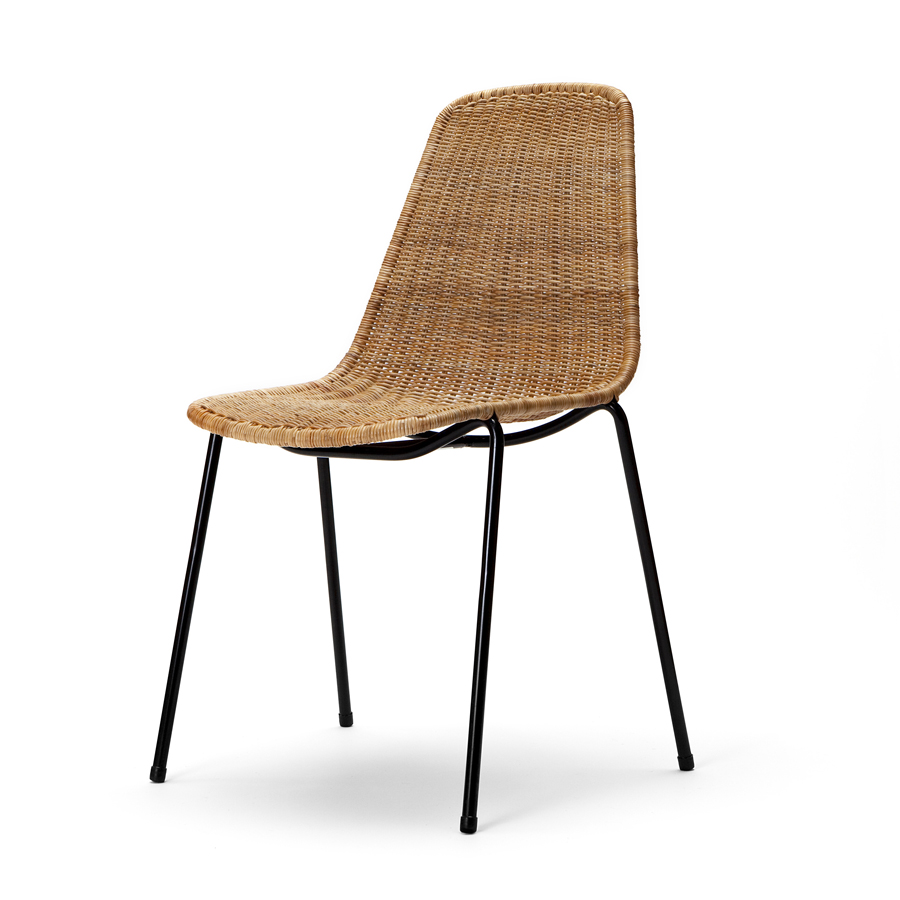 Basket Chair By Gian Franco Legler The Natural Room