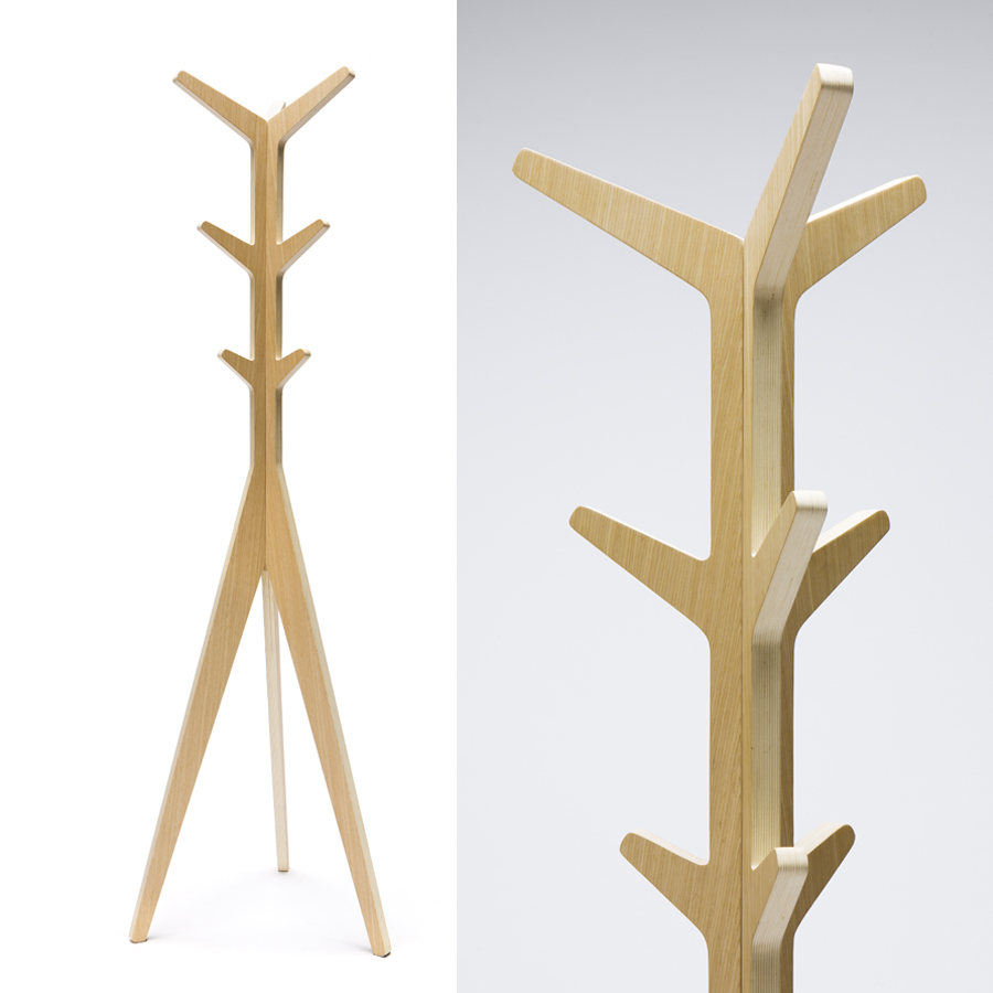 Pli Coat Stand The Natural Room