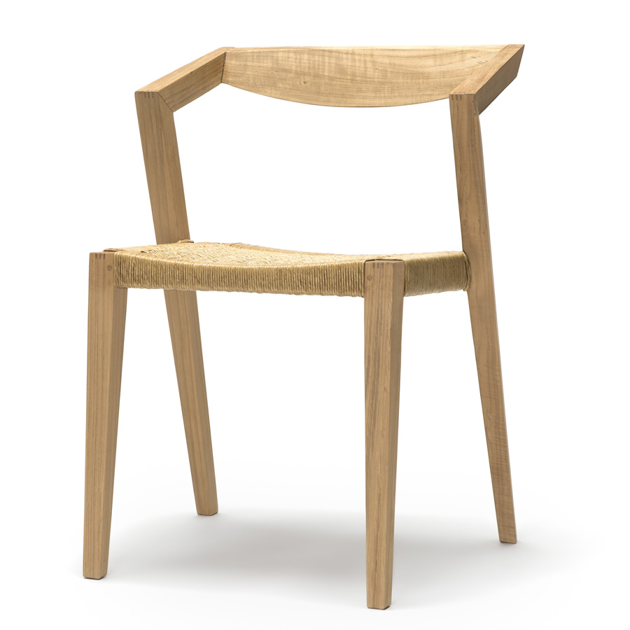 urban loom seat chair by jakob berg the natural room. Black Bedroom Furniture Sets. Home Design Ideas