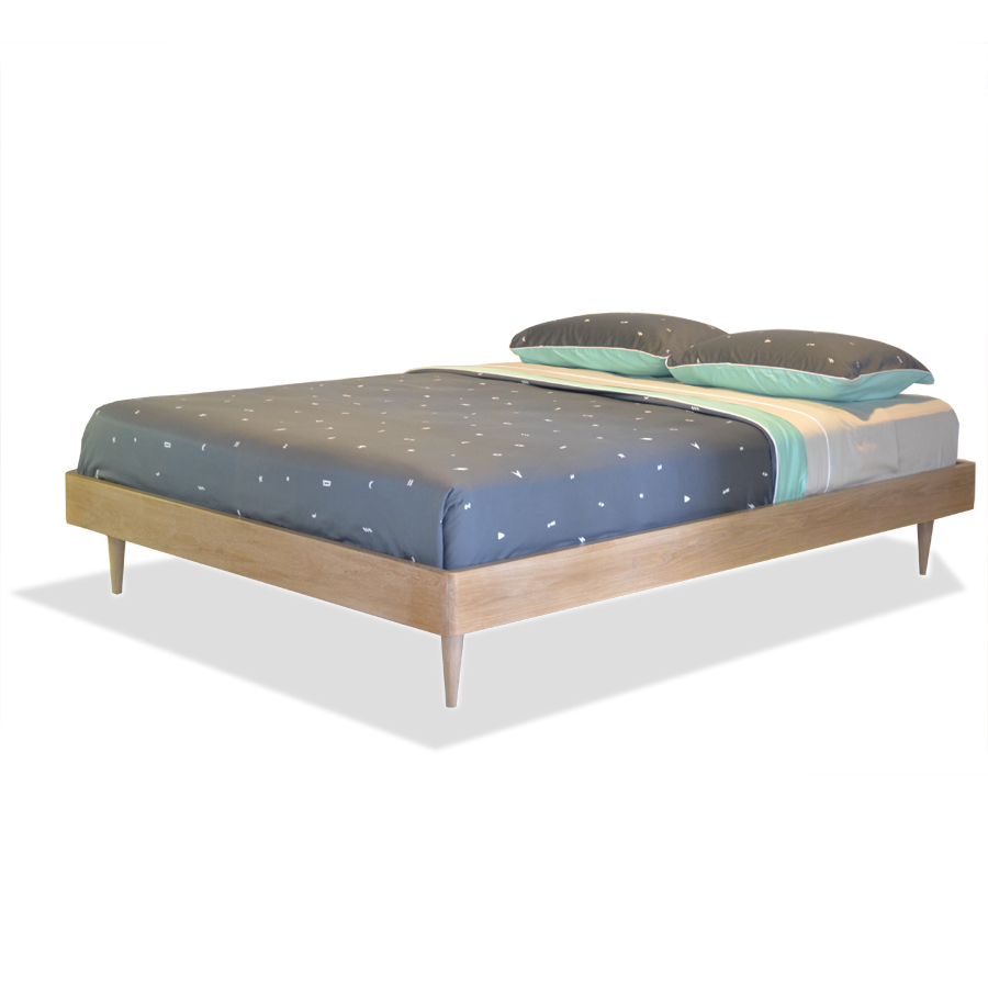 Copen bed without headboard the natural room for Bed without headboard